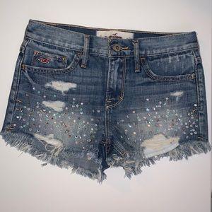 Hollister shorts. Size 0